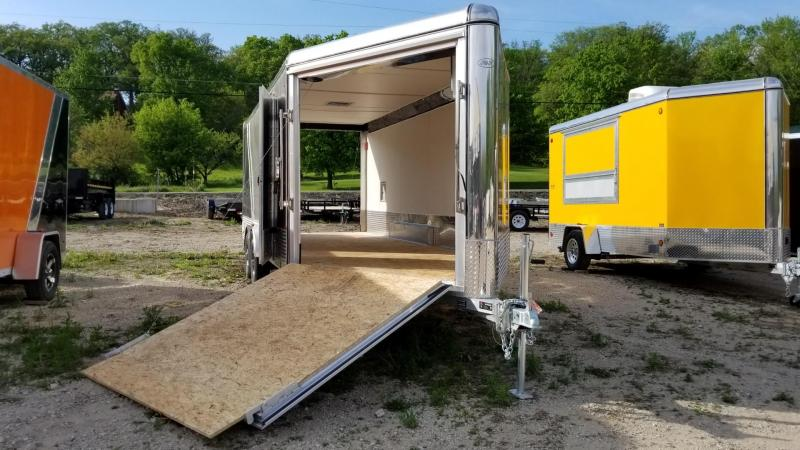2018 R and R Trailers 7.5x18 PSD Snowmobile Trailer 7k