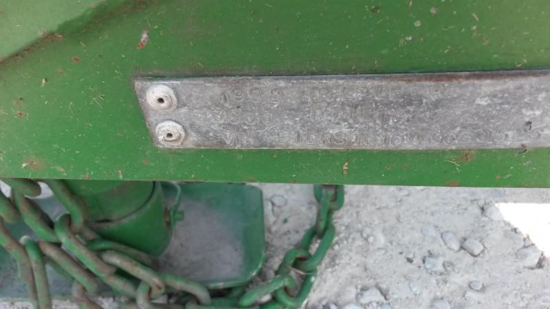 1998 Triple J 77x10 Piperail Utility w/Gate 3k