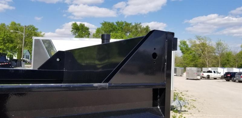 2019 Sure-Trac 82x16 Telescopic Dump Trailer 14k