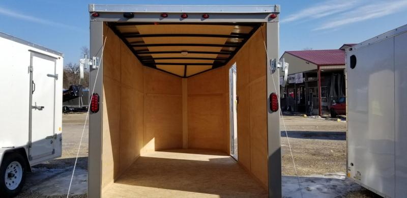 2020 Interstate 6x12 SFC Enclosed Cargo Trailer 3k