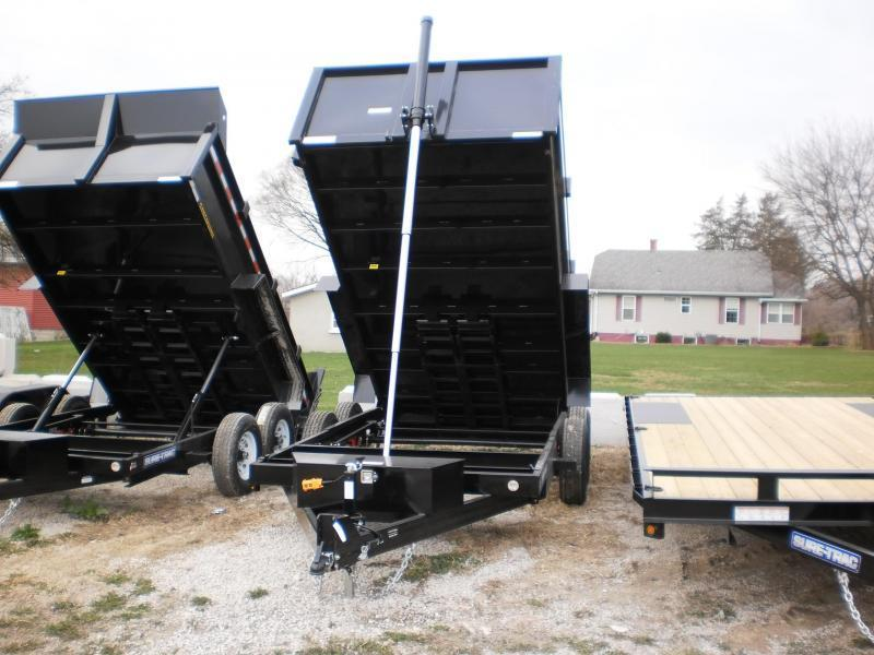 2018 Sure-Trac 82x12 Telescopic Lift Dump Trailer 12k