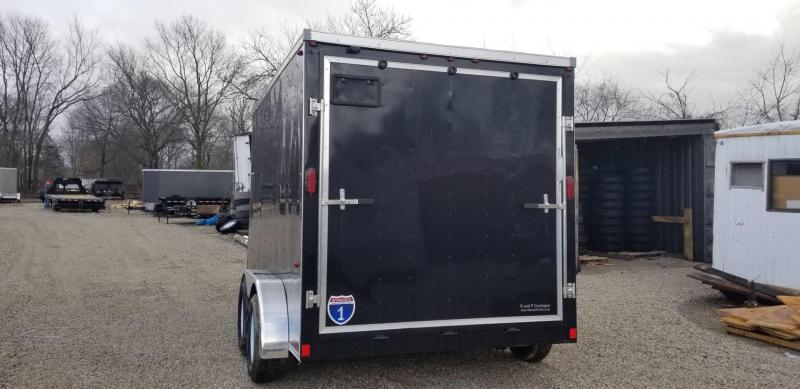 2019 Interstate 7x12 SFC Enclosed Cargo Trailer 7k