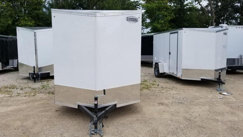 2020 Cargo Express 6x10 EX Deluxe Enclosed Cargo Trailer 3k