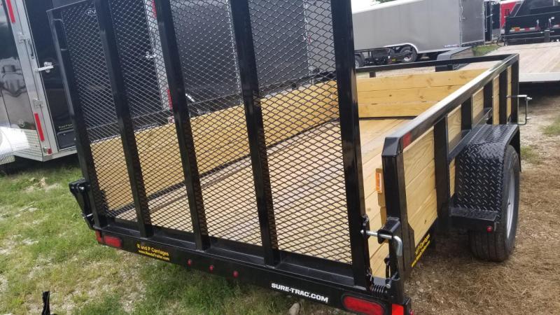 2020 Sure-Trac 6x12 3-Board High Side Utility Trailer 3k