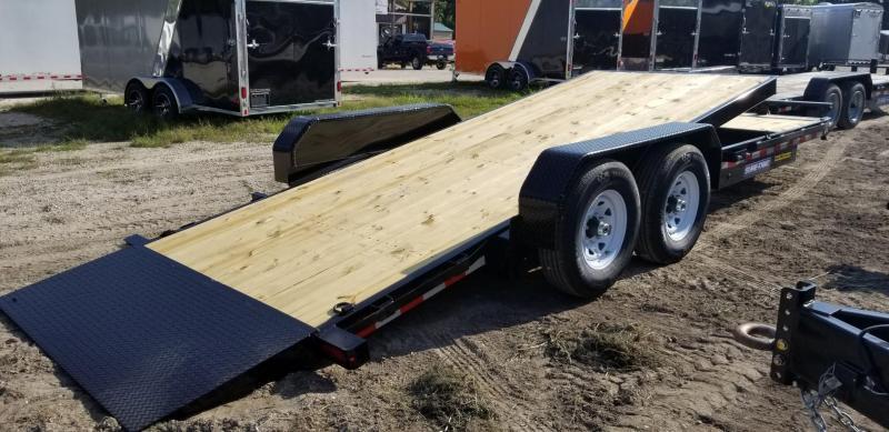 2019 Sure-Trac 7x18+4 Tilt Deck Equipment Trailer 14k