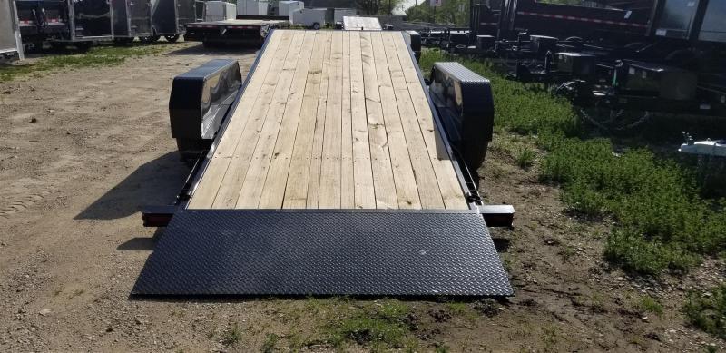 2019 Sure-Trac 7x18+4 Tilt Deck Equipment Trailer w/Lock Out Value 14k