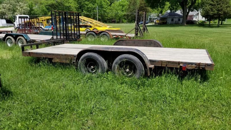 1992 Homemade 6.4x16 Flatbed Car Hauler 7k