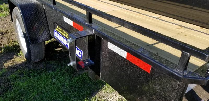 2020 Sure-Trac 5x10 Steel High Side Utility Trailer 3k