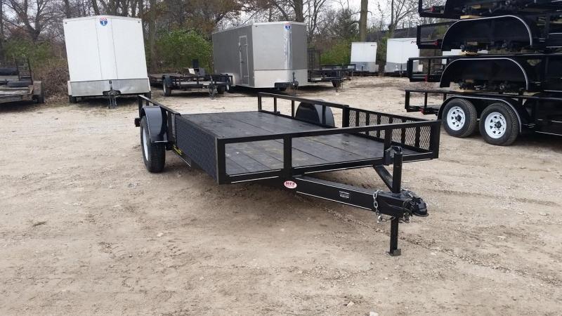 2018 M.E.B 6.4x14 ATV/Utility Trailer 3k