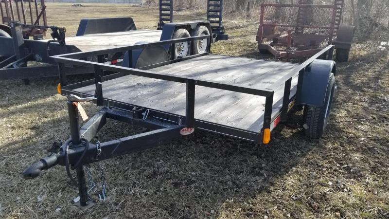 2017 M.E.B 6.4x10 Tilt Bed Utility Trailer w/Board Holders 3k