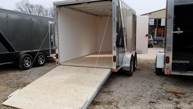 2018 R&R 7x12 FE Enclosed Cargo Trailer 7k