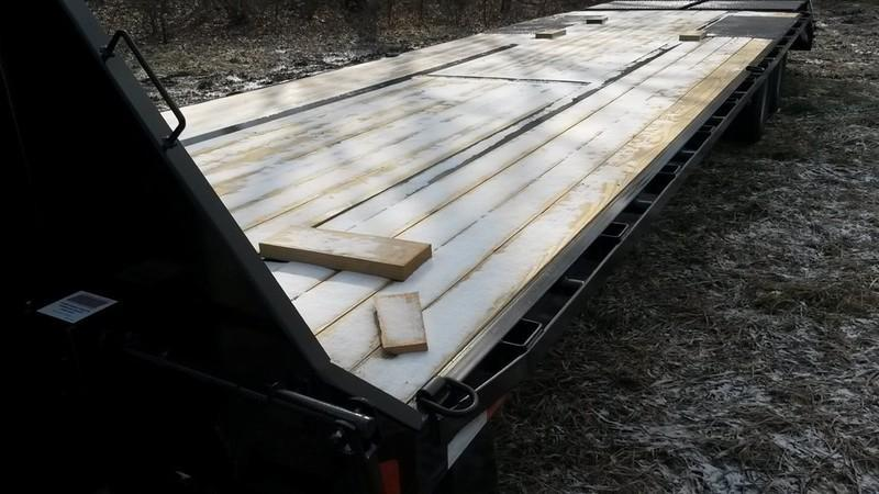2017 Sure-Trac HD Flatbed & Beavertail Deckover 8.5x20+5