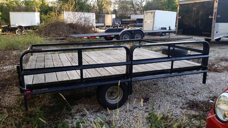 "2009 Yacht Club 94"" X 109"" ATV Trailer"