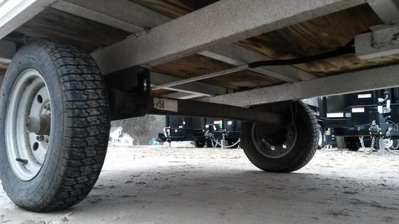 2000 R & R 68QT Snowmobile Utility Trailer 3K