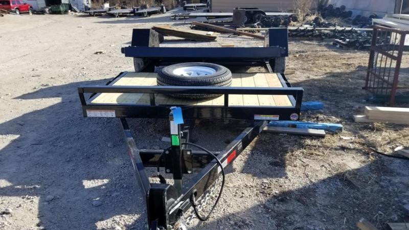 2018 Sure-Trac 78x12+4 Tilt Bed Equipment Trailer 7.8k
