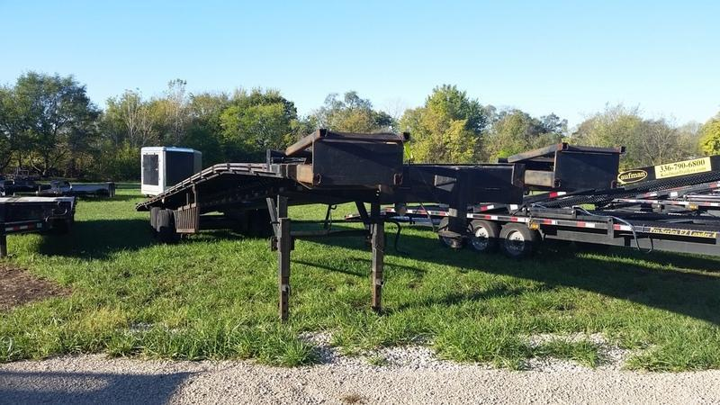 2008 Big Tex 8.5 X 53 Slant Car Hauler