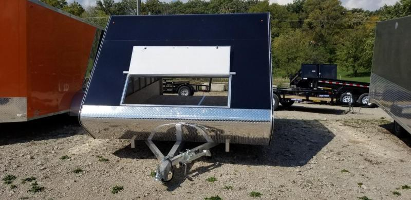 2019 R&R 12ARC 2 Place All Aluminum Snowmobile Trailer 3k