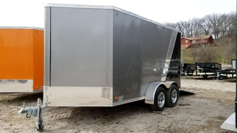 2019 R&R Trailers 7x12 FE All Aluminum Enclosed Cargo Trailer 7k