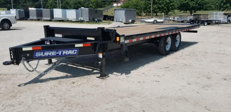 RENTAL #24 8.5x22 Power Tilt Equipment Trailer