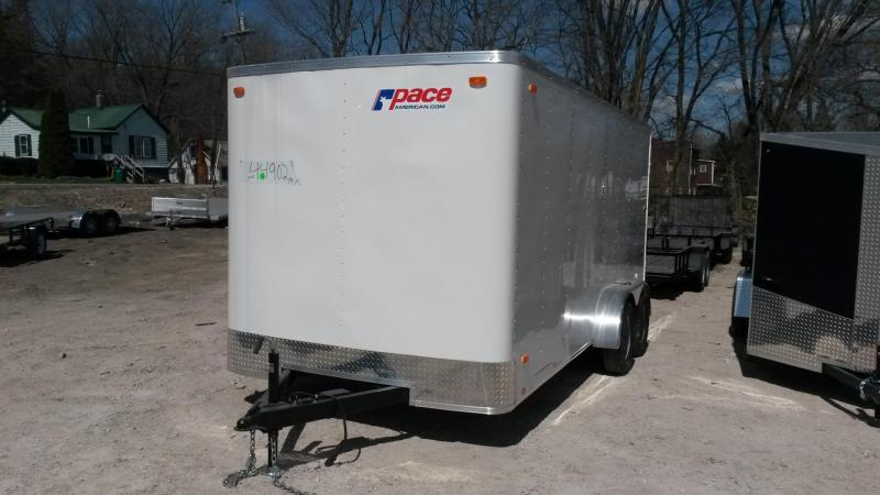 2018 Pace American Outback Cargo Trailer 7k