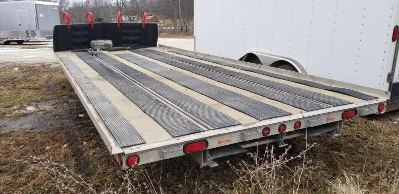 2007 Triton 8.5x20 Aluminum 4 Place Snowmobile Trailer 4.4k
