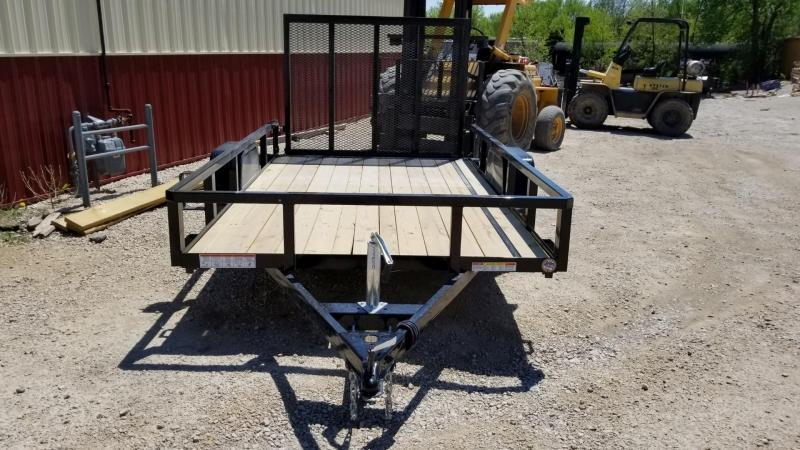 2020 Sure-Trac 6x10 Tube Top Utility w/Spring Asst Gate 3k