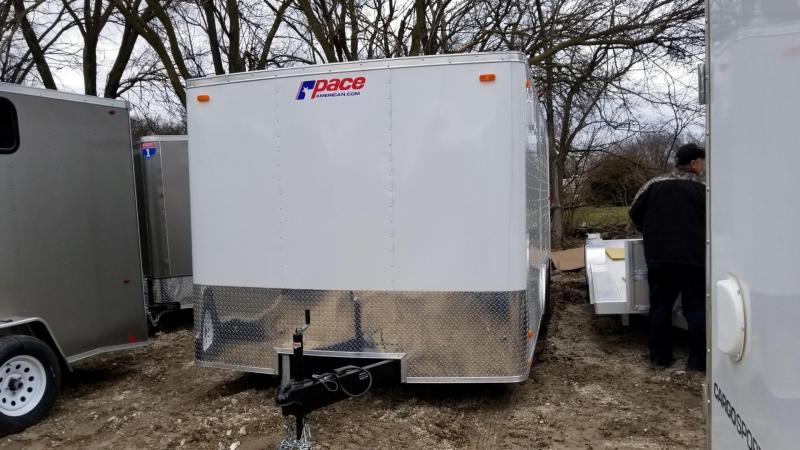 2019 Pace 8.5x18 Outback Car Hauler/Racing Trailer 7k