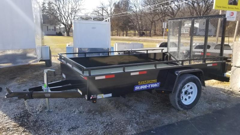 2019 Sure-Trac 6x10 Steel High Side Utility w/Gate 3k