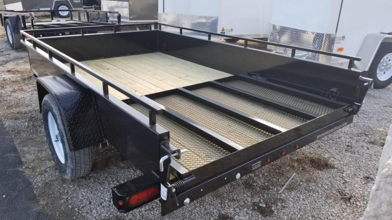 2018 Sure-Trac 6x10 Steel High Side Utility w/Gate 3k