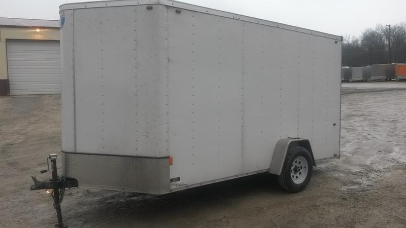RENTAL #5 7x12 Interstate Cargo Trailer