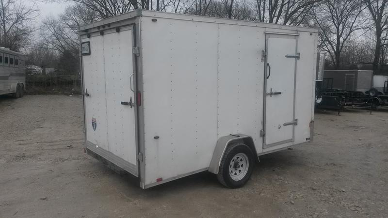 2016 Interstate 7X12 RENTAL Enclosed Cargo Trailer
