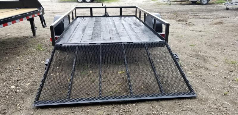 2019 M.E.B 6.4x12 Angle Iron Utility w/Gate 3k
