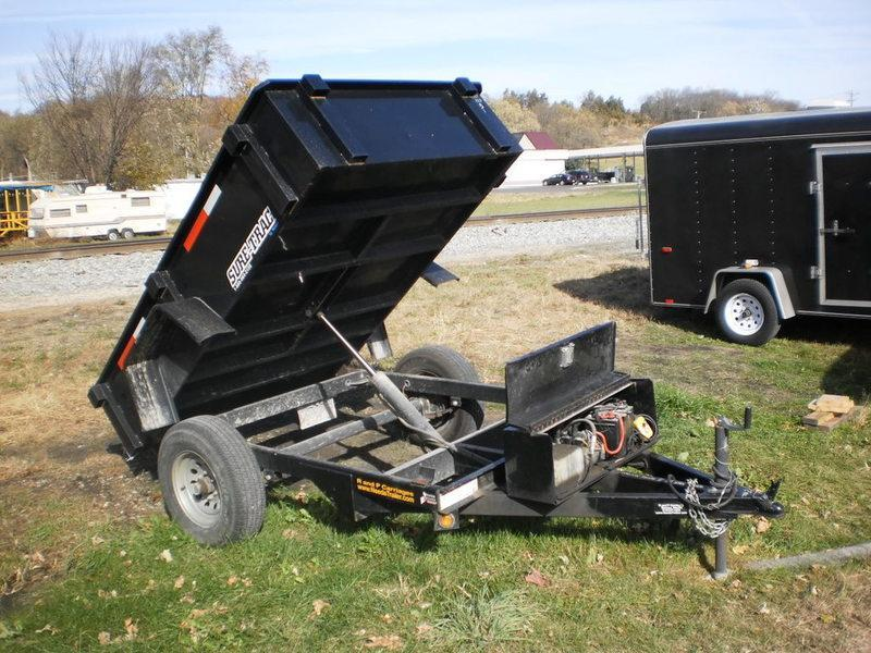 2009 Sure-Trac 5X8 RENTAL Dump Trailer