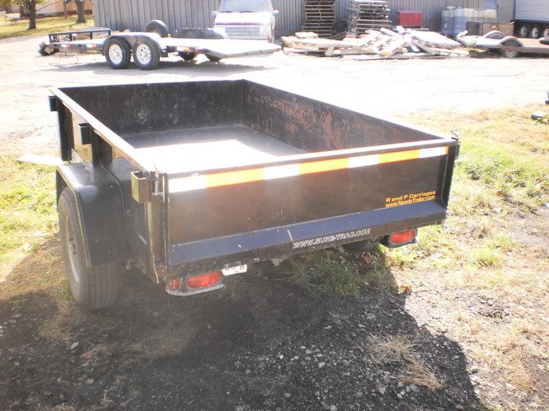 2009 Sure-Trac 5X8 RENTAL Dump Trailer
