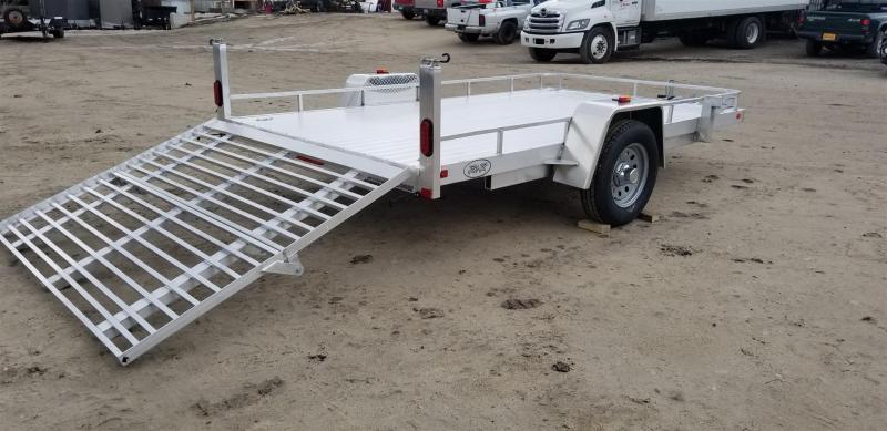 2019 R&R 7x12 UTA Utility w/Bi Fold Ramp 3k