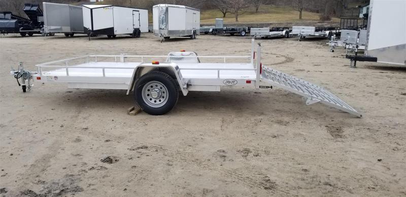 2019 R&R 7x12 UTA All Aluminum Utility w/Bi Fold Ramp 3k