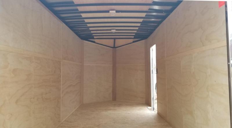 2019 Interstate 7x16 IFC Enclosed Cargo Trailer 7k