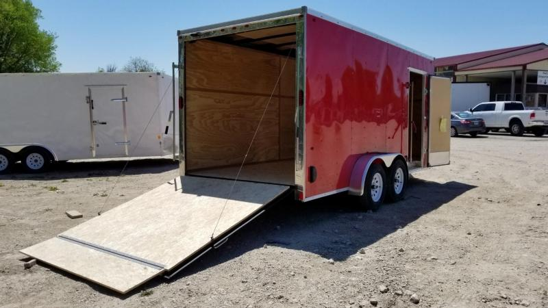 RENTAL #21 7x16 Interstate Cargo Trailer