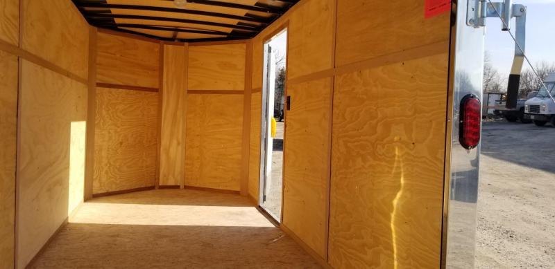 2019 Interstate 6x12 IFC Enclosed Cargo Trailer 3k