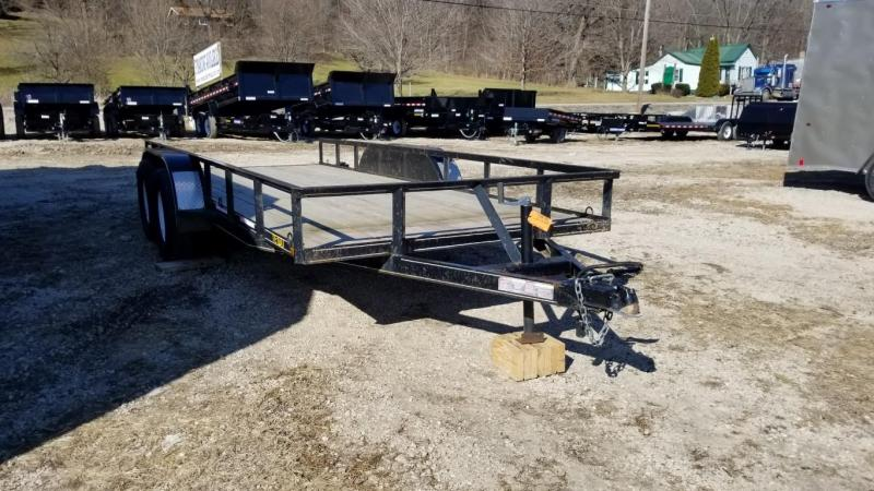 2013 Trailer 7x16 Utility w/Board Holders Trailer 7k