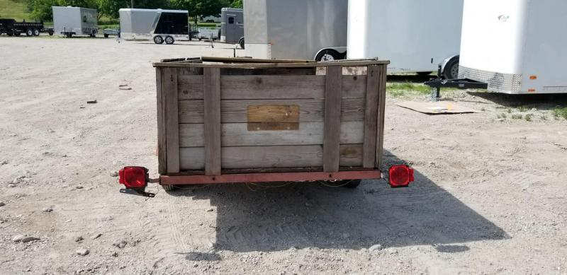 2004 Homemade 4x7.5 Utility Trailer