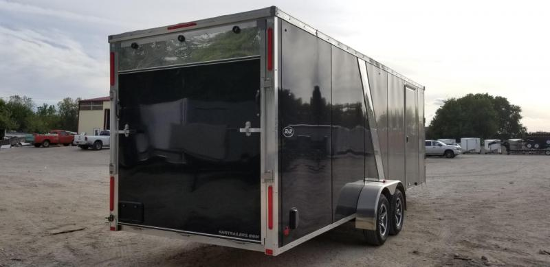 2019 R&R 7X22 Slasher Elite Enclosed Snowmobile Trailer 7k