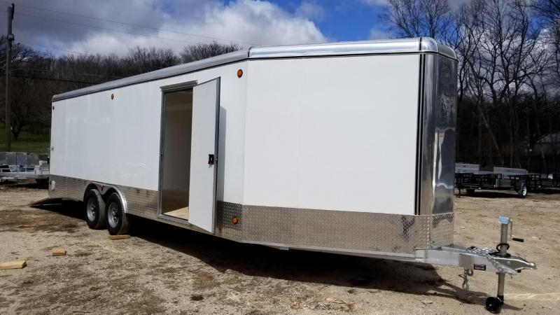 2018 R&R 822VCH Car Hauler/Racing Trailer 10k