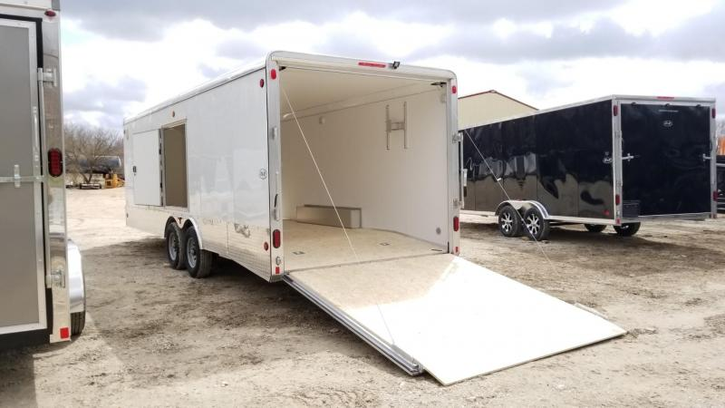 2019 R&R 8x20 VCH Car Hauler Enclosed Trailer 10k