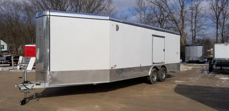 2019 R&R 8x20 VCH All Aluminum Enclosed Car Hauler 10k