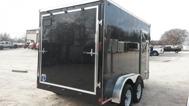 2019 Interstate 7x12 SFC Cargo Trailer 7k