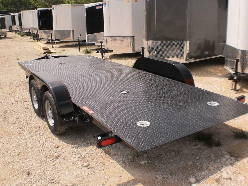 "2019 Kwik-Load 7x18 Steel ""Rollback"" Car Hauler Trailer 7k"