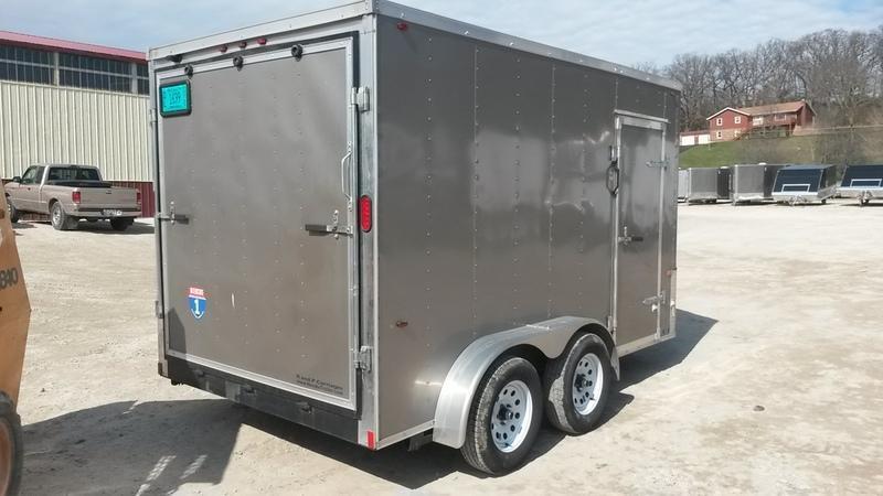 RENTAL #16 7x12 Interstate Tandem Axle Cargo Trailer