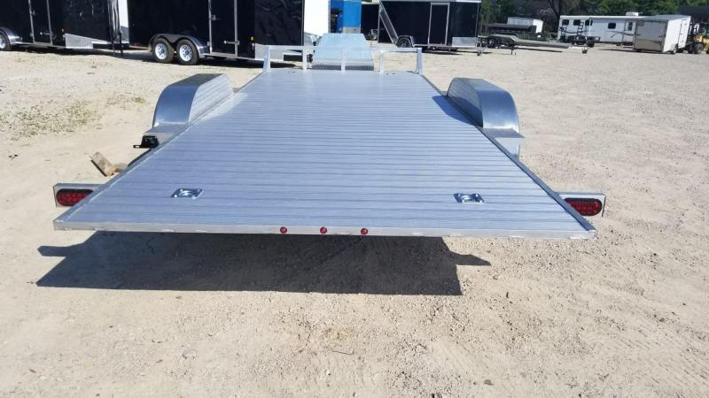 2019 R and R 7x18 All Aluminum Hydraulic Tilt Deck Auto Hauler 7k