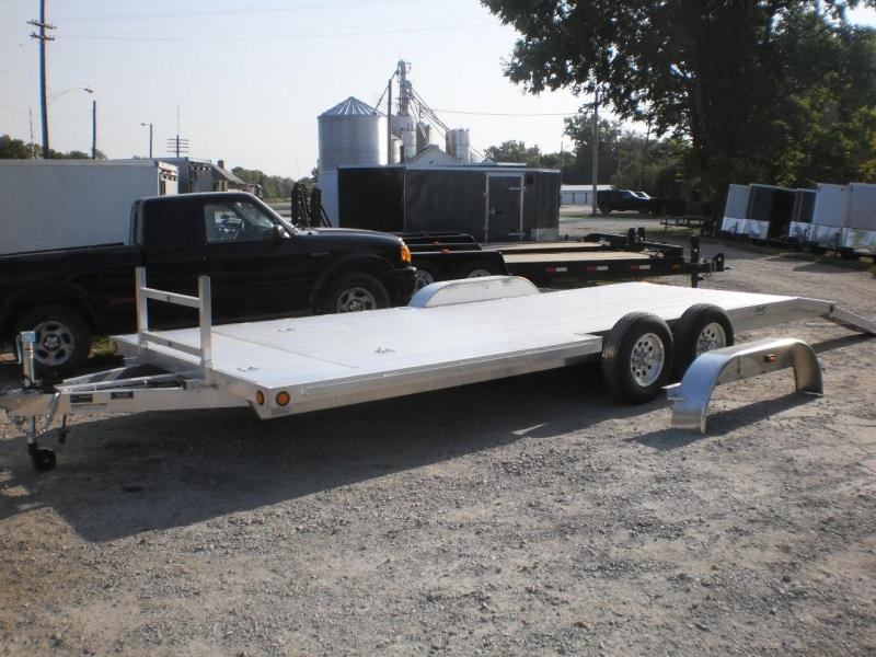 2018 R&R 7x22 ALUMINUM Car Hauler (Front/Side Load Ability) 10k
